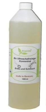 Biopretta Ultraschallreiniger Konzentrat für Brillen, Schmuck, Dental usw. 1 Liter, 1000 ml * SONDERPREIS -