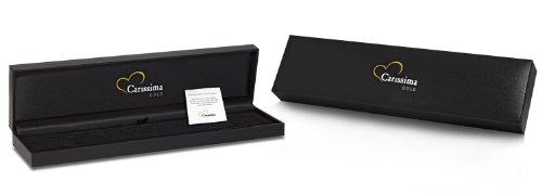 Carissima Gold Unisex-Kette ohne Anhänger 375 Weißgold 51 cm - 5.14.5815 -