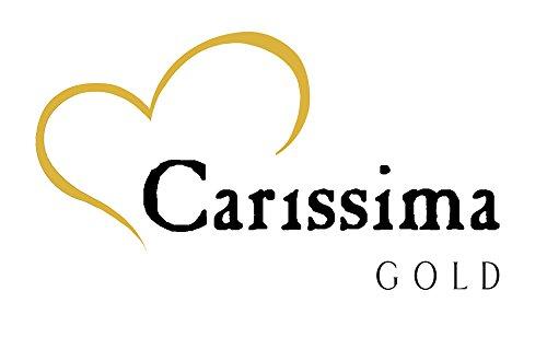 Carissima Gold Unisex-Panzerkette 375 Weißgold 46 cm - 5.13.0030 -