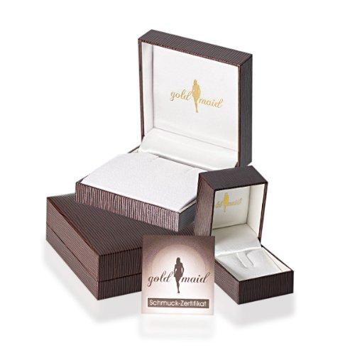 Goldmaid Unisex Venezianer Kette 585 Weißgold 45 cm Stärke 0.7 mm -