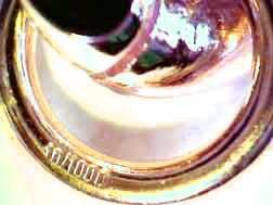 Panzerarmband 750er Gold Doublé 9mm breit, 25cm lang, direkt ab italienischer Fabrik GGY9-25 -