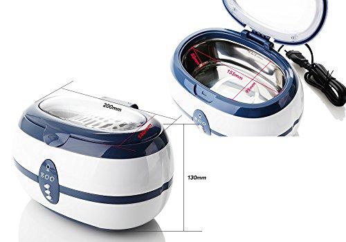 Ultraschallreiniger Ultraschallbad Ultraschallreinigungsgerät f. Brillen Schmuck VGT-800 -