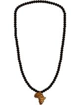 WOOD FELLAS Unisex Holz-Halskette Africa Lion One -