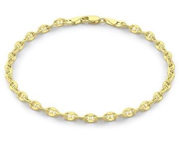 Carissima Gold Ankerkettenarmband aus 9-karätigem Gelbgold, 19 cm