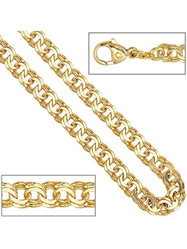 14 k ( 585 ) Gold Armband – B 5,20 mm – T 1,60 mm – L 19 cm