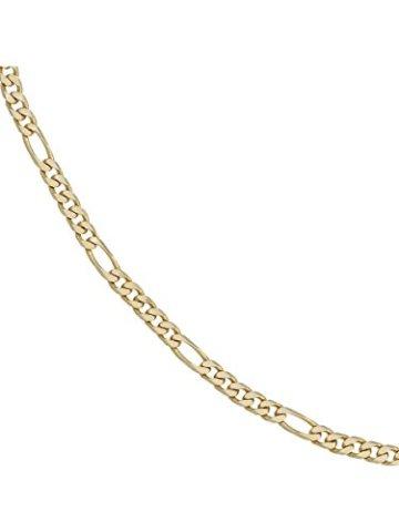 14 k ( 585 ) Gold Armband im Stil einer Figarokette – B 4,40 mm – T 1,50 mm – L 18.7 cm