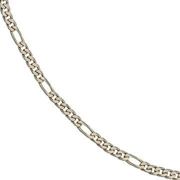 14 k ( 585 ) Gold Armband im Stil einer Figarokette – B 4,40 mm – T 1,50 mm – L 18.7 cm -