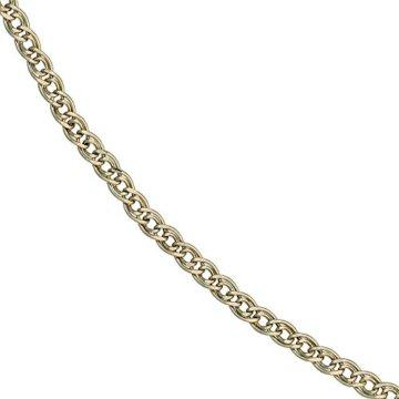 14 k ( 585 ) Gold Armband im Stil einer Panzerkette – L 21 cm -