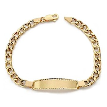 18k Gold hohlen bärtige Sklave 19cm. [AA0530]