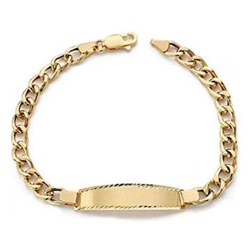 18k Gold hohlen bärtige Sklave 19cm. [AA0530] -