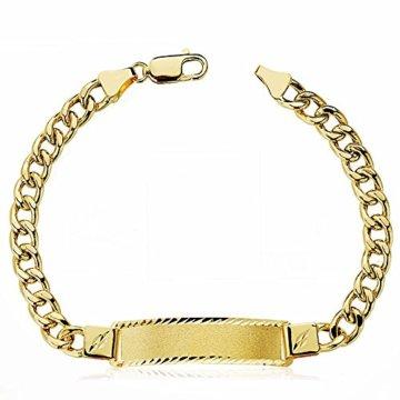 18k Gold hohlen bärtige Sklave 21.5cm. [AA2416] -