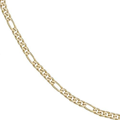 4,4mm Figaroarmband Armband Armkette Armschmuck 585 Gold Gelbgold 21cm Unisex -