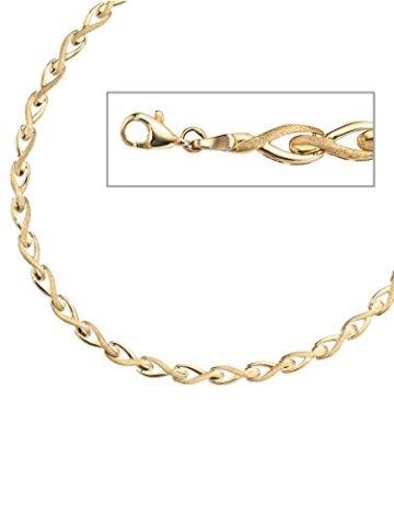 8 k ( 333 ) Gold Armband – B 5,50 mm – T 2,00 mm – L 19 cm