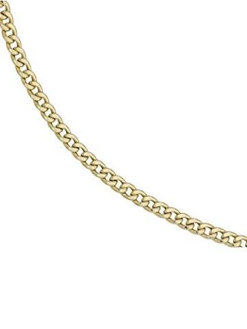 8 k ( 333 ) Gold Armband im Stil einer Panzerkette – L 21 cm