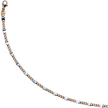 8 k ( 333 ) Gold Armband im Stil einer Panzerkette – L 19 cm -