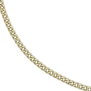8 k ( 333 ) Gold Armband im Stil einer Panzerkette – L 21 cm -
