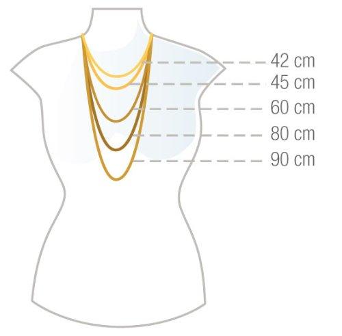 925 Silberkette: Königskette Silber mit der Breite 3,5mm und auswählbare Länge 50cm, 55cm und 60cm