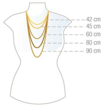 925 Silberkette: Königskette Silber mit der Breite 3,5mm und auswählbare Länge 50cm, 55cm und 60cm -