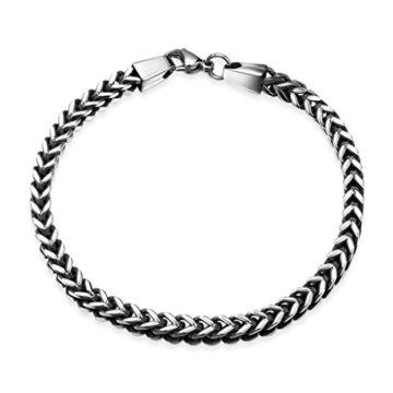 AMDXD Juwelier Vergoldete Herren Armband Abbildung Link Armbänder 20.3CM