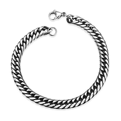 AMDXD Juwelier Vergoldete Herren Armband Geometrische Link Armbänder 20.3CM