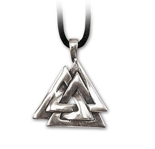 Anhänger Wotansknoten Dreieck Schmuck 925er Sterling Silber Keltischer Schmuck