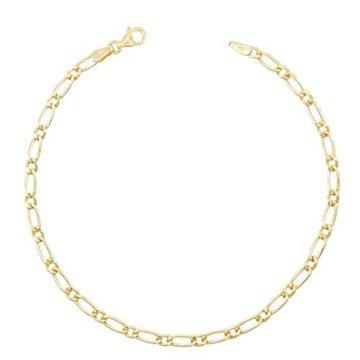 Armband Figarokette = 1, 1-echt Gold Gelbgold