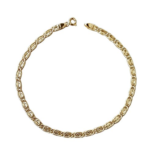Armband Herren Strick volle Gold 18Karat–7502,90GR–18K Yellow Gold Bracelet
