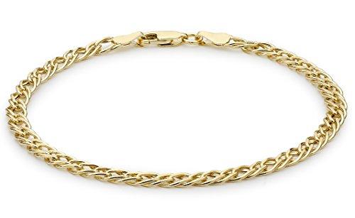 Carissima Gold Unisex-Armband 9 Karat (375) Gelbgold 375 Gold 1.23.5832