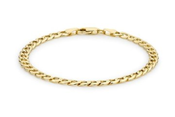 Carissima Gold Unisex-Gliederarmband 375 19 cm – 1.23.5512