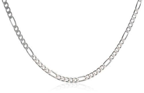 ChainArt Unisex-Collier Figarokette 925 Sterling Silber 40385766