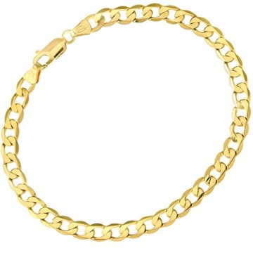 Citerna Herren-Armband 9 Karat (375) Gelbgold 21 cm  8.5″