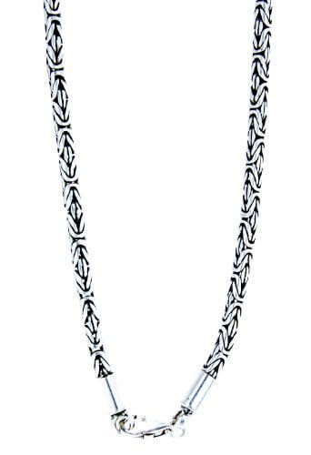 Edle Königskette aus 925 Sterling Silber, 3 mm dick, verschiedene Längen
