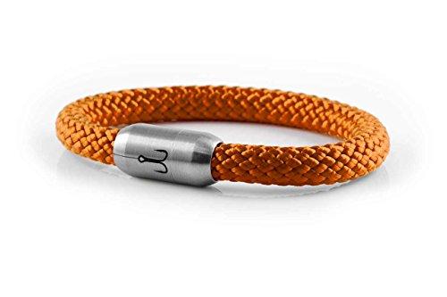 "FISCHERS FRITZE® Segeltau Armband ""MAKRELE 2.0"" Orange"