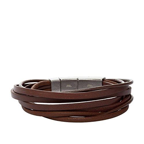FOSSIL Armband JF86202040 Leder braun