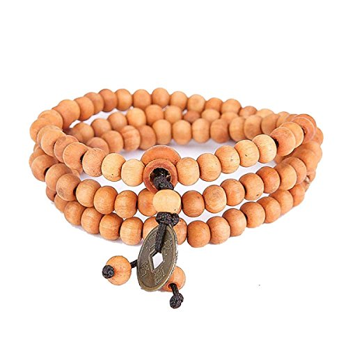 Holz Perlen Armband Für Männer Frauen Tibetischen Buddhistischen Gebet Link Cool