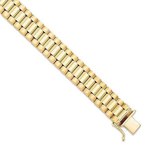 IceCarats Designer Schmuck 14K Herren Armband In 8-Zoll-