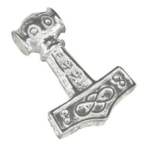 Kleiner Thorshammer Anhänger aus 925-Silber