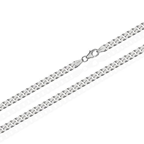 NKlaus 925 Sterling Silber Kette PANZERKETTE Königskette 2,70mm breit