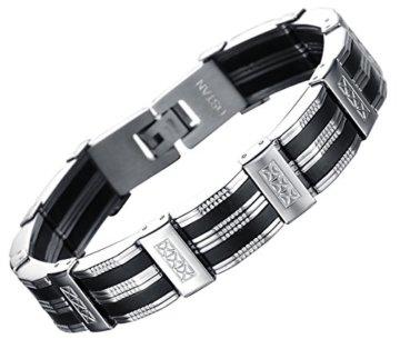 Ostan – Gotik 316L Edelstahl Herrenarmband