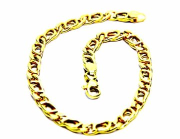 Pegaso Gioielli–Armband gold gelb 18kt Rebhuhn–Herren cm 21,5