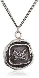 Pyrrha Unisex-Kette Edelstahl 925 Sterling-Silber 46cm