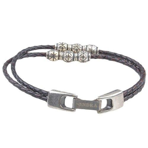 SENDRA BOOTS Leder-Armband Braun, Farbe:Brauntöne;Länge:20 cm