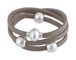 Sence Copenhagen Damen-Armband Leder One Size, braun