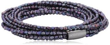 Story Unisex Armband lilla Perle 6cm 1304751-60