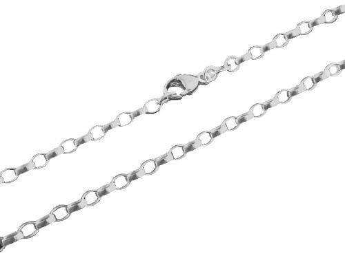 Thomas Sabo Unisex-Kette ohne Anhänger Charm Club Weitankerkette circa blank 925 Silber – X0002-001-12