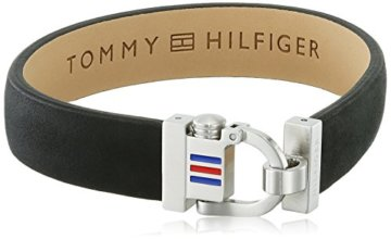 Tommy Hilfiger Herren-Armband Edelstahl Leder 22 cm-2700767