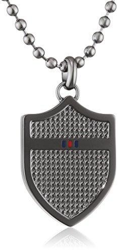 Tommy Hilfiger Herren-Kette ohne Anhänger 925 Silber Emaille 60 cm-2700896