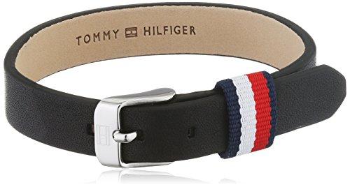 Tommy Hilfiger Jewelry Herren-Armband Men's Casual Edelstahl Leder 25 cm – 2700956