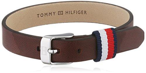 Tommy Hilfiger Jewelry Herren-Armband Men's Casual Edelstahl Leder 25 cm – 2700957