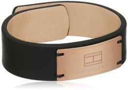 Tommy Hilfiger Jewelry Herren-Armband Men's Casual Leder,